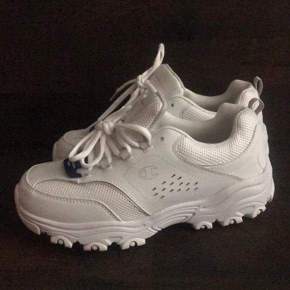 Champion White Chunky Sneakers   Poshmark